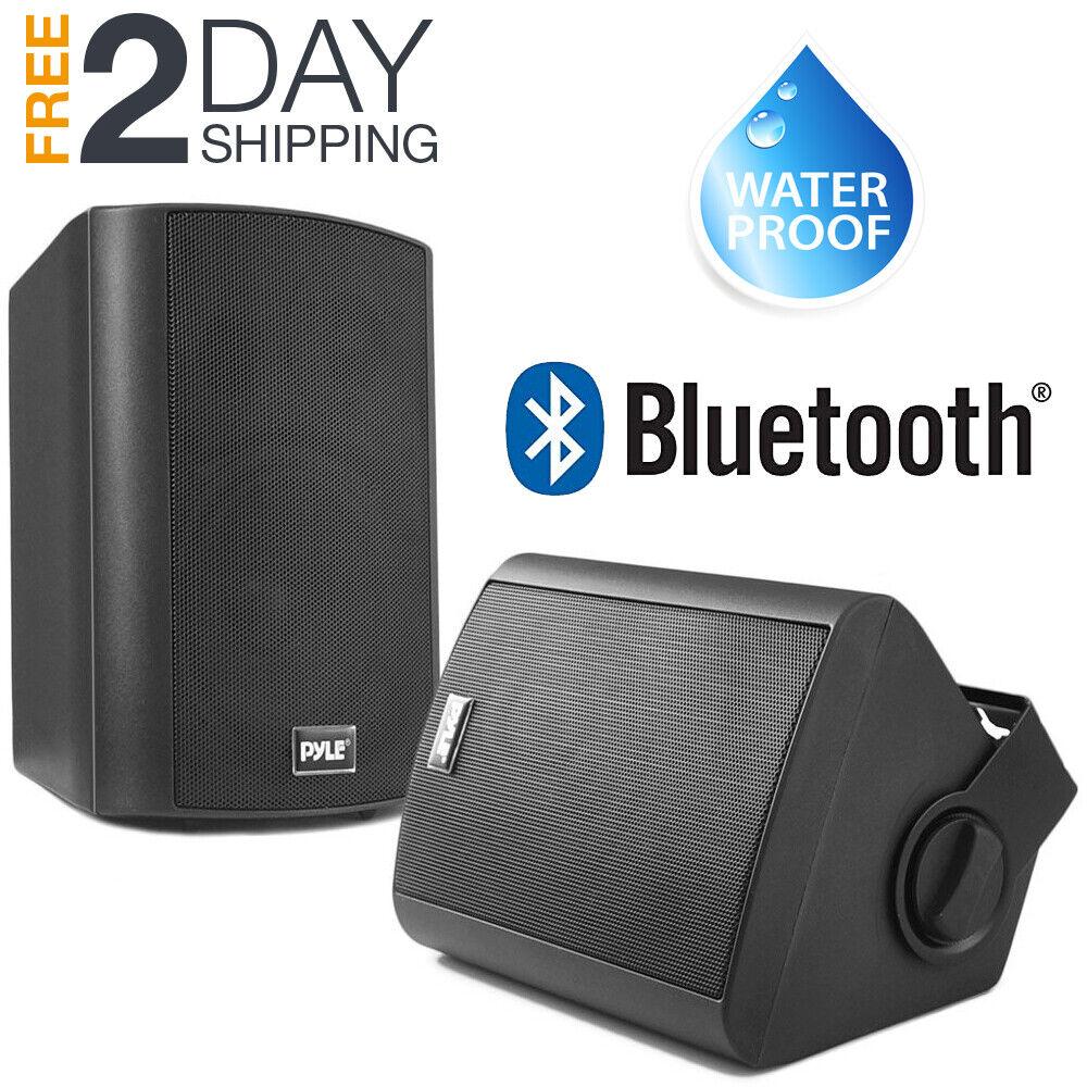 indoor outdoor patio speakers bluetooth