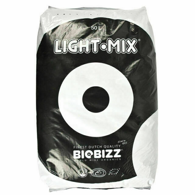 BioBizz Light Mix Soil 50L Organic Growing Media What is Light Mix? Light Mix is the ideal substrate for organic growers who want to control their plant growth by applying liquid fertilizers (right from the initial growth).