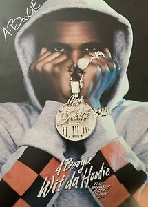 details about a boogie wit da hoodie autographed poster very rare 11 x 18