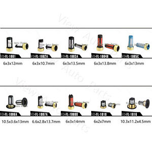 Fuel Injector Micro Basket Filter with different type for