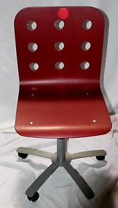 ikea swivel chair wheelchair joystick discontinued jules in brick ebay image is loading