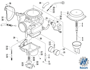 Carburetor- ASS Fit For Arctic Cat 2008 Prowler 650 Xt