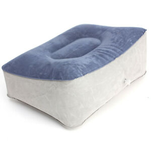 Inflatable Relax Foot Rest Pillow For Travel Home Help ...