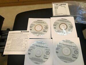 OEM Genuine Lenovo ThinkCentre E73 Recovery Media Disks 10AU 10AS Win 8 Pro Disc   eBay