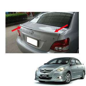 toyota yaris trd spoiler grand new avanza e 1.3 manual no painted rear for vios sedan belta 2007 image is loading
