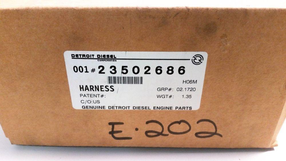 medium resolution of detroit diesel ddec2 engine harness ddecii 6v92 part 23502686 for sale online ebay