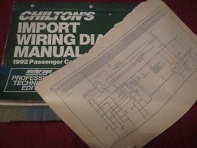 1992 volvo 240 wiring diagrams schematics manual sheets set  ebay