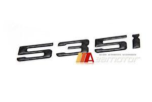 BMW E60 F10 5-Series Rear Trunk Lid Real Carbon Fiber