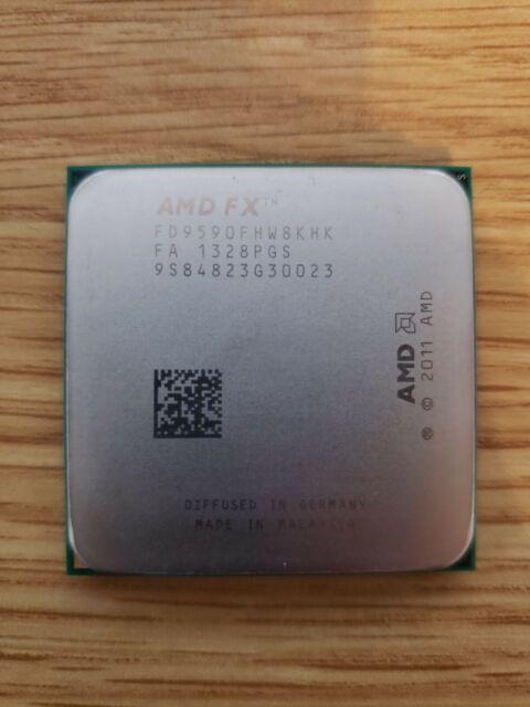 AMD FX-9590 9590 - 4.7GHz Eight Core (FD9590FHW8KHK) Processor for sale online | eBay