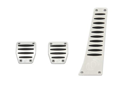 DINAN Aluminum Pedal Covers Set Manual Transmission For