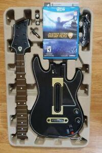 Guitar Hero Ps3 Bundle : guitar, bundle, Nintendo, Guitar, Bundle, Complete, Dongle, 47875877269