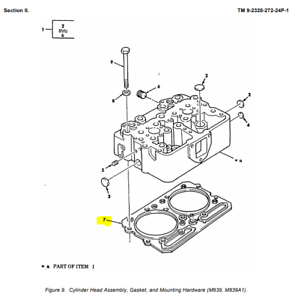 NEW Cylinder Head Gasket 3047402 fit for Cummins NT855