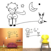 The Little Prince Fox Moon Star Decor Mural Art Vinyl Wall ...