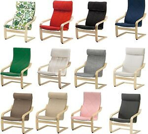 ikea poang chair cover cheap wedding covers australia armchair slipcover replacement cushion slip 22 image is loading amp