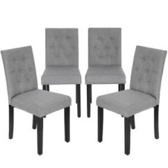 Grey Kitchen Chairs Wedding Tables And For Rent Dining Armless Room Chair Accent Solid Wood Modern Image Is Loading