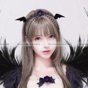 black cute halloween hair accessories