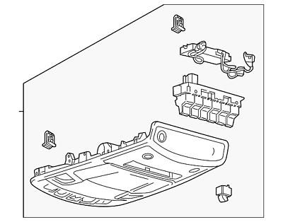 2019 F 150 Overhead Console