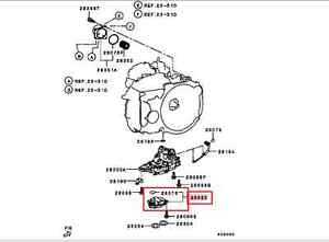 MITSUBISHI LANCER OUTLANDER A/T AUTOMATIC VALVE BODY OIL
