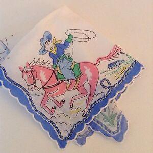 Darling New Cowboy Handkerchief Yippee Ki Yay Childs
