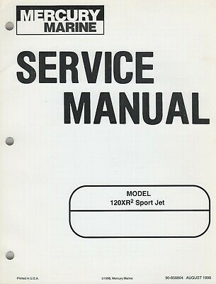 1999 MERCURY MARINE 120XR2 SPORT JET SERVICE MANUAL 90
