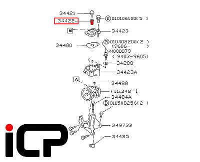 Power Steering Pump Reservoir oil Strainer Filter Fits