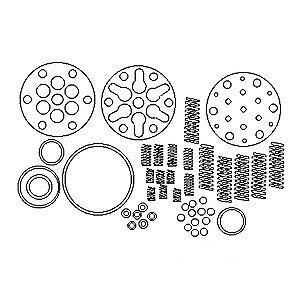 Hydraulic Pump Repair Kit NAA17382A fits Ford NAA Jubilee