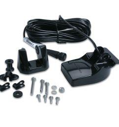 garmin 200 khz and 50 khz transom mount transducer kit 15 degree beamwidth ebay [ 1000 x 1000 Pixel ]
