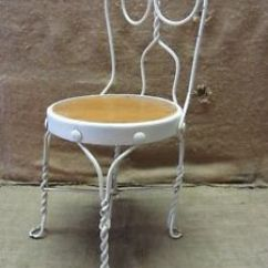 Ice Cream Parlor Chairs Ebay Dining Room Vintage Childs Chair > Antique Old Stool Soda Fountain 7043  