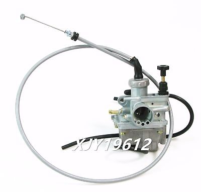 Carburetor & Throttle Cable Fits Suzuki Quadsport 80 LT80