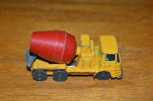 Image Is Loading Vintage Husky Cement Mixer Cast Truck Erf