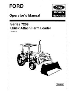 NEW HOLLAND Ford 7209 Quick Attach Farm Loader SE4541
