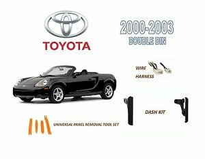 2000-2003 TOYOTA MR2 SPYDER DASH INSTALL KIT for CAR