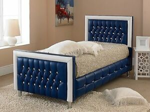 Image Is Loading Beds For Best Price Faux Leather Bed