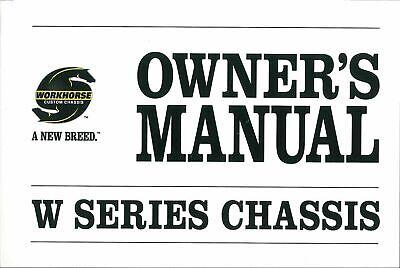 Bishko OEM Maintenance Owner's Manual Bound for Workhorse