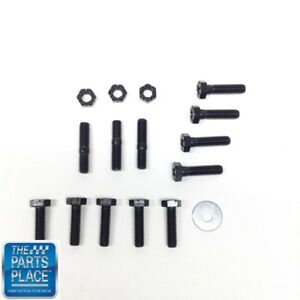 1964-79 Pontiac Water Pump To Timing Cover Bolt Kit 16pc