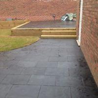 Black Slate Paving Patio Slabs Garden 5m2 600x400mm 20mm