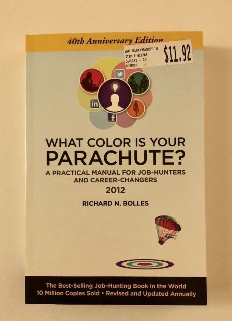 What Color Is Your Parachute Book Job Hunting Career Changer ...