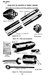 137 page 1944 90-MM GUN M3 MOUNTED IN COMBAT VEHICLES TM