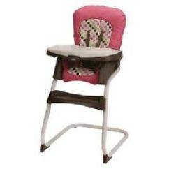 Graco High Chair Cover Replacement Wedding Covers Brighton Ready2dine Booster Highchair Seat Pad Cushion And Portable In Darla Brand New 1896314