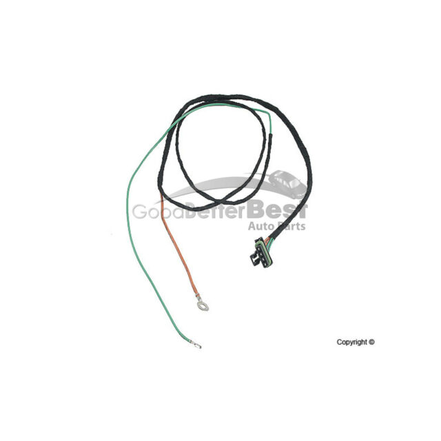 One New Genuine Engine Cooling Fan Motor Wiring Harness