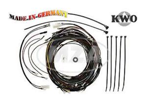 Simson Kabelbaumset S53 incl. Circuit diagram for 12V-VAPE
