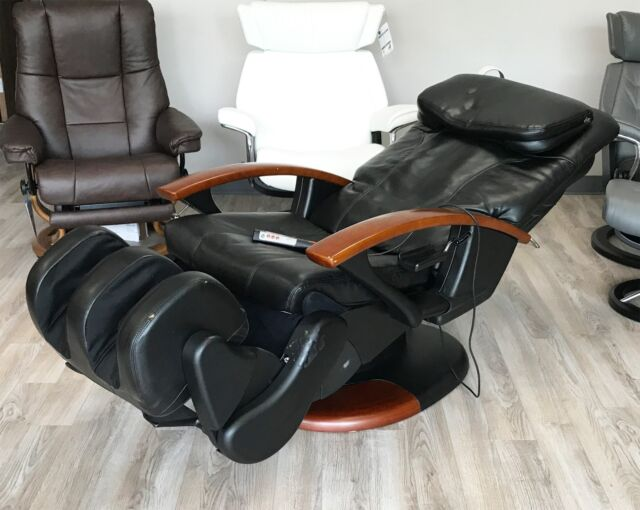 human touch massage chairs antique chair with carved face ht 140 black premium robotic ebay interactive health recliner ht140