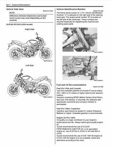 Suzuki SFV650 Gladius Service Repair Maintenance Workshop