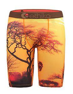 Image is loading new ethika men sunset casual long boxer underwear also sports pants us rh ebay