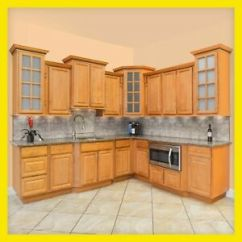 Kitchen Cabinets Rta Backsplash 10x10 All Wood Richmond 816124022510 Ebay Image Is Loading