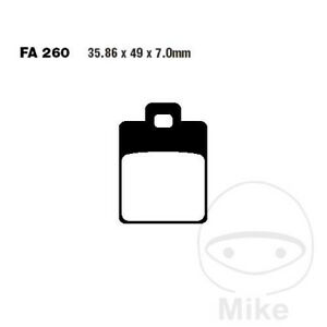 EBC SFA (HH) Scooter Rear Brake Pads SFA260HH Gilera