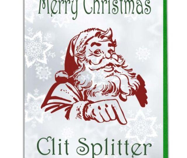Funny Rude Banter Joke Adult Christmas Card Husband Boyfriend Brother Mate