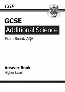 GCSE Additional Science AQA Answers (for Workbook