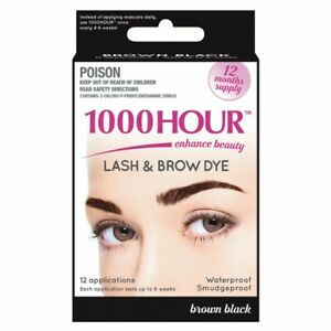 1000 HOUR Eyelash & Brow Dye Kit **All Shades IN STOCK ...