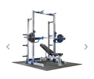 details about brand new fitness gear pro half rack